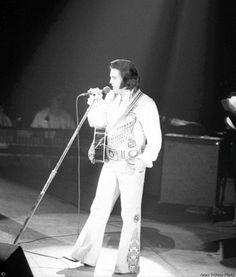 Elvis Tour Visits Ames Iowa -  Tribune photo published May 29, 1976