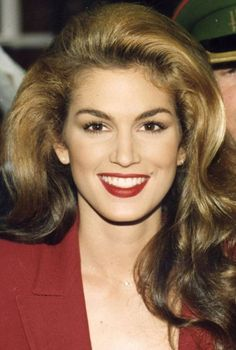 Cindy Crawford Is Bathed In Chicks Squirting All Over Her Face