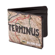Terminus Wallet - Love this Walking Dead Terminus wallet! This is a fun gift idea for fans of TWD.
