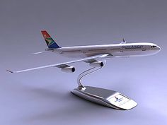 If you don't dream of vacation all day already, put one of these on your desk and you'll be in South Africa in no time! 3d Max, Airports, Old And New, Planes, South Africa, African, Desk, Vacation, Model