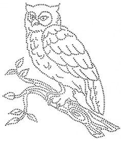 Uil Owl Patterns, Beading Patterns, Embroidery Patterns, Stitch Patterns, String Art Templates, String Art Patterns, Embroidery Cards, Beaded Embroidery, Punched Tin Patterns