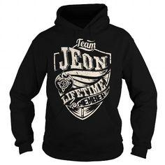 I Love Team JEON Lifetime Member (Dragon) - Last Name, Surname T-Shirt T shirts