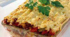 Ovenschotel met macaroni en paprika