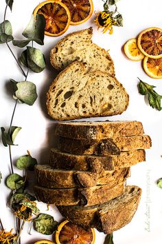 Pan de naranja y alcaravea
