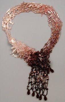 Beautiful ombré work via Diane Hyde.