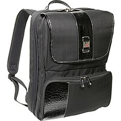"Mobile Edge ScanFast Checkpoint Friendly Onyx Backpack - 16""PC / 17"" MacBook Pro  - Black - via eBags.com!"