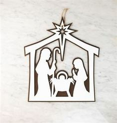 """Képtalálat a következőre: """"nativity scene door hanger"""""""