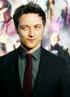James McAvoy, that face! Swoon!