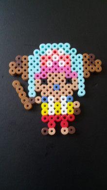 Chopper One Piece perler beads