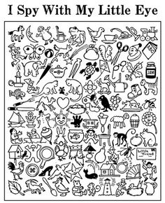 6 Best Images of I Spy Activities Printables - I Spy Printable Worksheets for Kids, I Spy Worksheets Free Printables and Free Printable I Spy Christmas Game Speech And Language, Speech Therapy, Phonics, Teaching Resources, Teaching Ideas, Primary Teaching, Literacy, Coloring Pages, Colouring