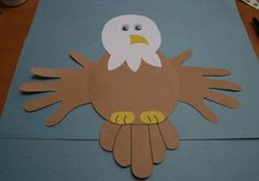 bald eagle craft Daisy 3 Cheers for Animals