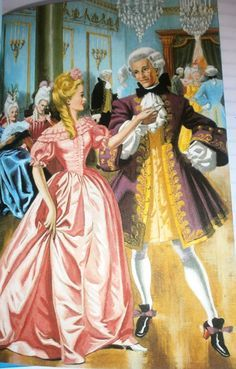 """""""Cinderella At The Ball"""" Written by Charles Perrault - Artist Eric Winter - From The Brothers Grimm Fairy Tale Collection - France (1697)"""
