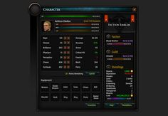 Character UI Element
