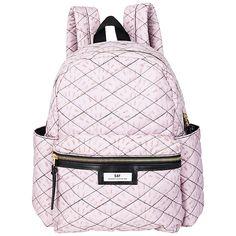 Buy Et DAY Birger et Mikkelsen Gweneth Quilt Backpack, Pink Online at johnlewis.com