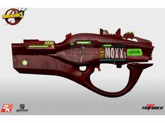 Borderlands 2: Miss Moxxi's Bad Touch Full Scale Replica - Borderlands Replicas... Only $649