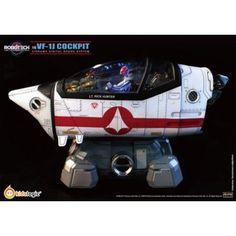 Robotech Macross VF-1J 1/6 Scale Cockpit Diorama Digital Sound System