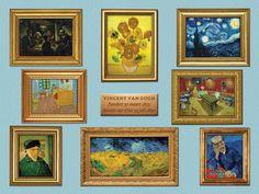 Vincent van Gogh | interactieve vensterplaat