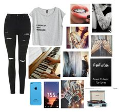 """""""💖"""" by mamasnena ❤ liked on Polyvore featuring Topshop and Crosley Radio & Furniture"""