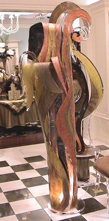 MARVELOUS GRAND SCULPTURE By Shahrooz Shahrooz Art.com   #AcrylicFurniture,  #LuciteFurniture