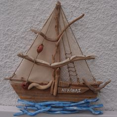 SHIPS FROM DRIFTWOOD ...ΠΛΟΙΑ ΘΑΛΑΣΣΟΞΥΛΑ