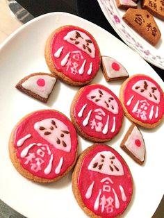 妹の合格祈願に作った クッキーです꒰ ︠ु௰•꒱ु - 199件のもぐもぐ - 蜂蜜クッキー★受験ver by Juri555