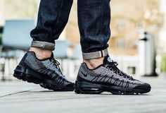 "Nike Air Max 95 JCRD ""Black"" and ""Sail"" - EU Kicks: Sneaker Magazine"
