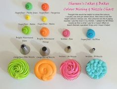 Piping Tips & colors