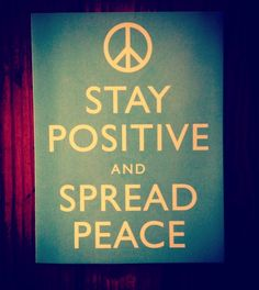 Yes. :: Love how Kelly Barton is sharing about peace today.