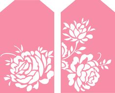FREE SVG floral tags 2