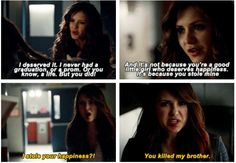 Well Katherine, you're human now... You better make your 2nd chance at a good life and happiness count...