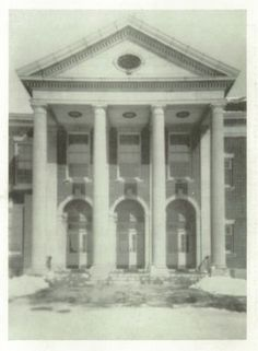 "Auburn High School, in Auburn, NY. From the 1935 ""Arrow"" yearbook.  #Auburn #Arrow #yearbook #1935"