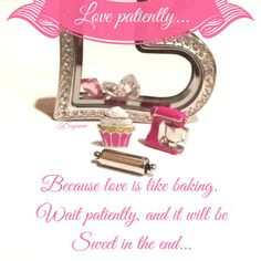 Bake me somethin sweet! Origami Owl Spring collection! Questions? owlisallyouneed@gmail.com  #locket #Origami Owl  #charm