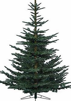 Kaemingk Natural Cut Fir Christmas Tree Green - Part Number: With FREE set of 20 flashing/static multi-coloured LEDs.