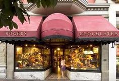 Rogers Chocolates in Victoria, BC.  Try the Empress Squares -they're to die for!!!