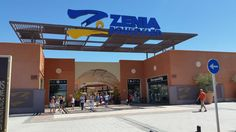 The superb La Zenia Boulevard shopping mall. @casaclimps #climpsroadtrip