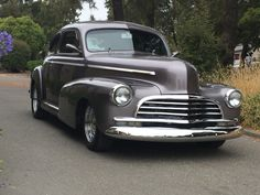 #autobodyandmore in #santarosaca #47chevy going home with its owner after some major #restoration work this is one sweet ride