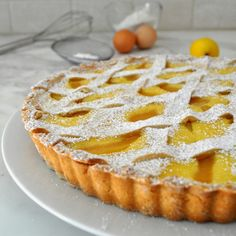 Cooking with Manuela: Pears and Ricotta Tart