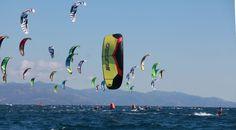 Kitesurfen Poetto Cagliari auf Sardinien