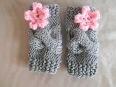 So sweet. Little baby girl leg warmers.