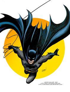 Batman At Sundownby Loston Wallace