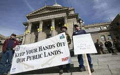 Speakers ranging from motorcyclists to hunters to Indians to bird watchers to mountain bikers will speak on the steps of the Idaho Capitol Saturday. The rally for public lands is expected to bring as many as 1,000 Idahoans from as far away as Sandpoint and Fort Hall.