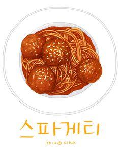Spaghetti & meatballs ~ Xihanation