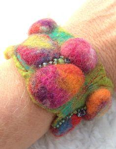 Armband Filz&Perlen