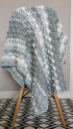 Superzachte baby-deken haken..! - Happy Handmade living Lovey Blanket, Baby Blanket Crochet, Crochet Baby, Knit Crochet, Crochet Afghans, Crochet Cushions, Lang Yarns, Basic Crochet Stitches, Chrochet