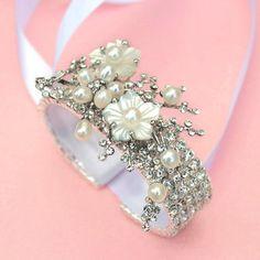 Cherry Blossom Bracelet / Cuff