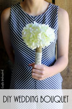 You can make your own DIY bouquet easily with our craft tutorial below. These are perfect for your bridesmaids or make a larger version for the bride!