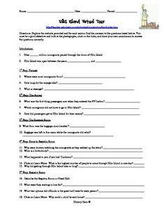 Luggage for Ellis Island | Worksheets, Social studies and School