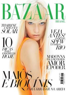 Harper's Bazaar Jan 12 | Thairine Garcia | Gui Paganini