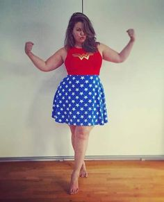 Fluvia lacerda plus size model halloween costume super heroe