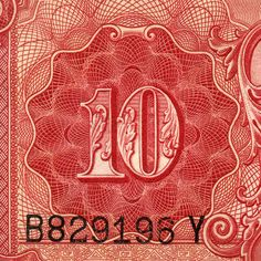 Chinese Yuan paper currency detail #money